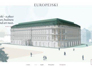 сайт комплекса Европейский, главная